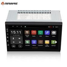 TOPSOURCE 7 «Универсальный 2 din android-dvd-плеер автомобиля gps + Wifi + Bluetooth + радио + 4 ядра 1024*600 экран стерео радио 7003