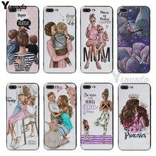 Yinuoda Mama of drama girlmom soft silicone Cover case For iphone 6 6s 6plus 6S plus 7 7plus 8 8plus 5S SE XR XS XS Max coque kayla perrin single mama drama