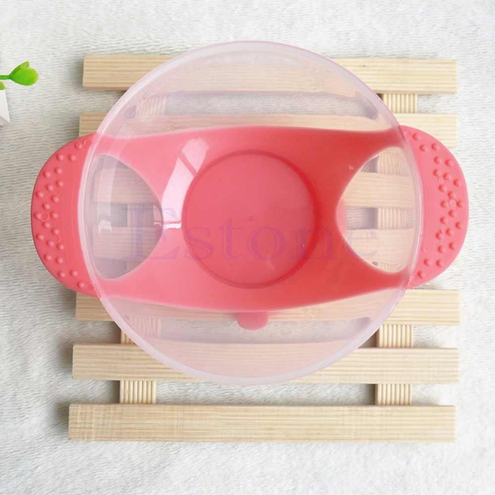 2019 Nova Base de Sucção Tigela Treinamento Bebê Infantil Alimentação Slip-resistente Tigela de Mesa