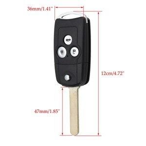 Image 5 - 3 Bottoni Auto di Vibrazione A Distanza Chiave Caso Fob Borsette Aggiornamento per Honda Civic per Accord Jazz CRV