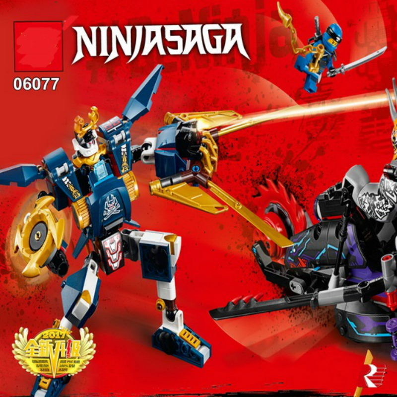 663pcs Blocks Toy Lepine 06077 Killow Vs. Samurai X Mech Oni Chopper Robots Model Building Bricks Toys Compatible Legoe Ninjagoe lepin 663pcs ninja killow vs samurai x mech oni chopper robots 06077 building blocks assemble toys bricks compatible with 70642