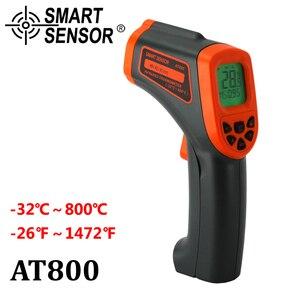Image 3 - Digital Infrared Thermometer  32~950°C Non Contact Laser IR Temperature Gun Pyrometer Tester Aquarium Emissivity Adjustable