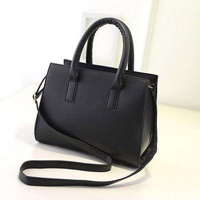 New  Shoulder Drawstring Women Leather Brown Shoulder Bag Shoulder Bags