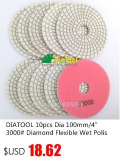 Cheap diamond wet polishing pad