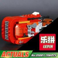 LEPIN 05001 Star Wars The Force Awaken Rey S Speeder Assembled Building Blocks Kid Toy