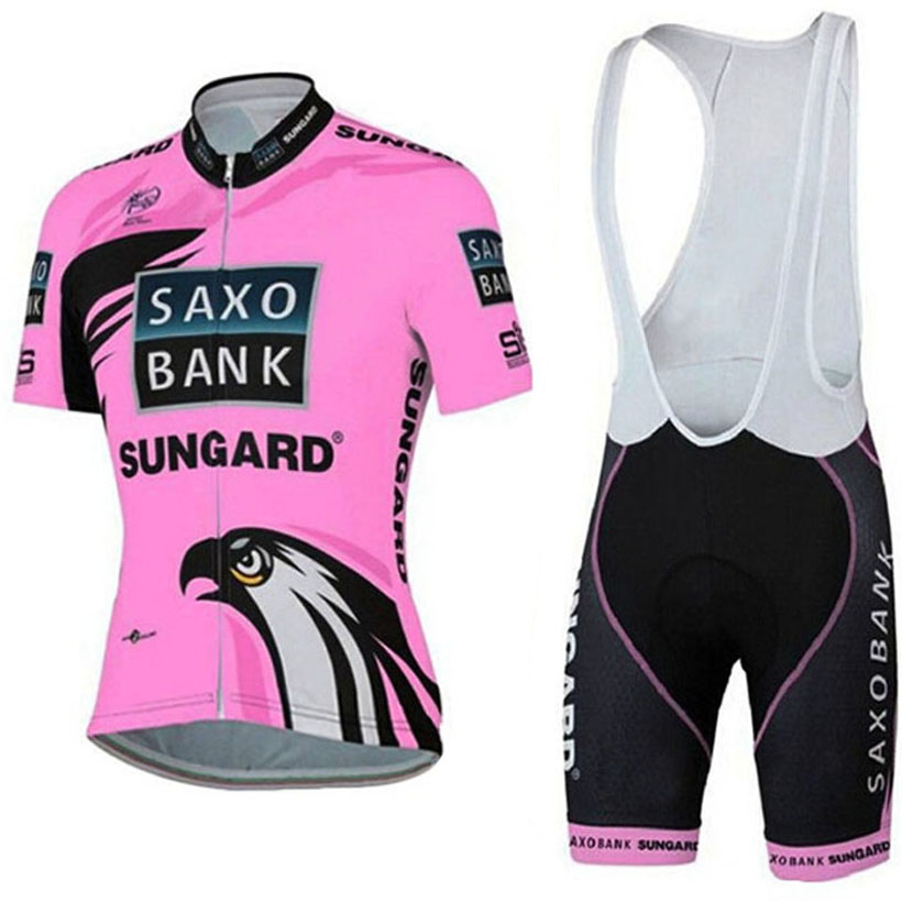 SAXO cycling TEAM wear gel pad bike shorts Ropa Ciclismo quick dry pink women pro cycling jersey bicycle Maillot Culotte breathable quick dry bike ropa ciclismo skintight short sleeve cycling jersey clothes gel pad bicycle cycling clothing
