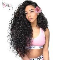 250% плотность Синтетические волосы на кружеве человеческих волос парики для женский, черный 13x4 бразильские Glueless Синтетические волосы на кру