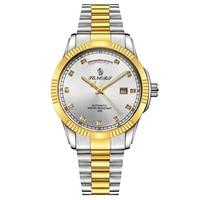 Automatic Watch Men's Mechanical Watches 30M Waterproof Wristwatches Military Sapphire Crystal Mens Clock erkek kol saati