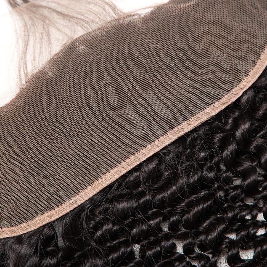 Հրաշք աղջիկ բրազիլական կինկի գանգուր - Մարդու մազերը (սև) - Լուսանկար 4
