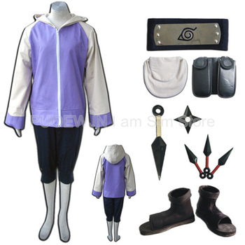 Naruto Hyuga Hinata Cosplay Costume set Full Set