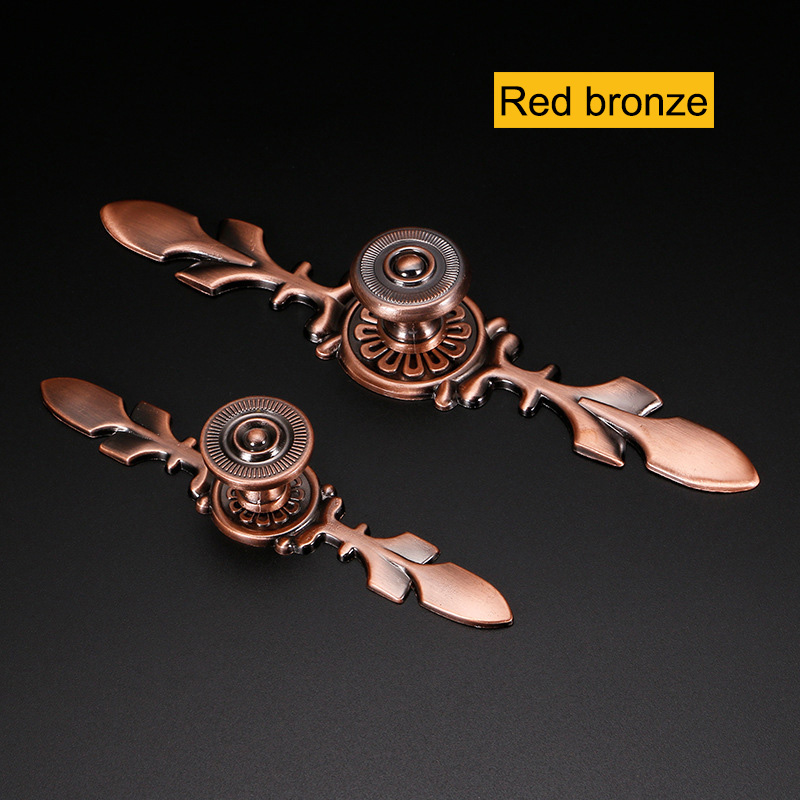 Vintage Style Leaves Shaped Drawer S Dresser Cabinet Cupboard Wardrobe Pull Handles Door M25 In From Home Improvement On