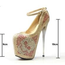 Crystal 19cm Heel Platform