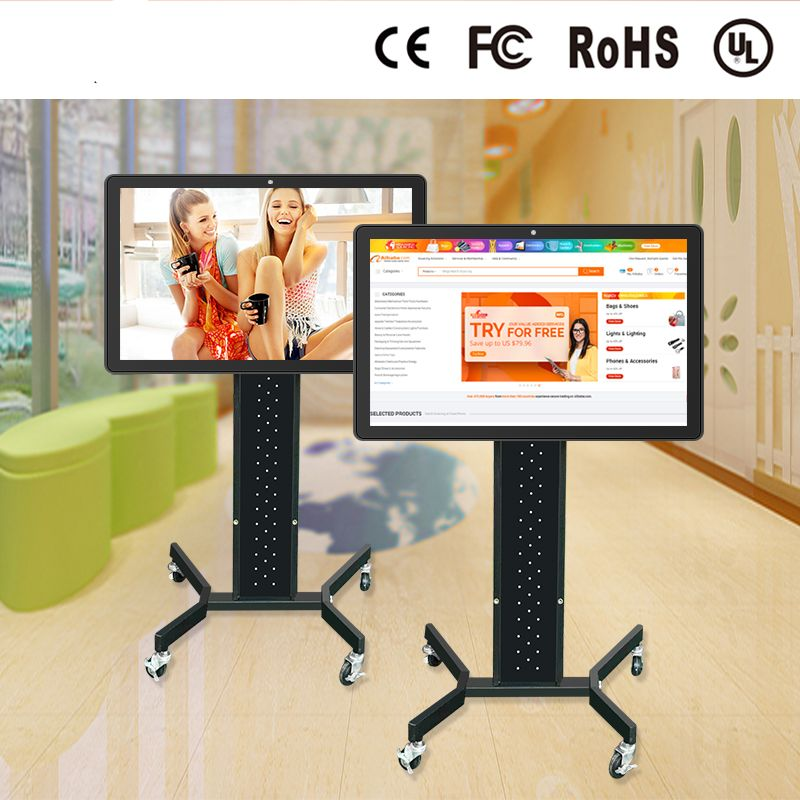 1080P 16.7M AIO Plastic Shell LED Panel Wide 300cd/m2 All In One PC 32 Inch