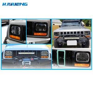 """Image 5 - 1 pc led square led headlight 5x7inch led for truck headlight kit 5x7""""square led lighting for Cherokee XJ Trucks for MJ Comanche"""