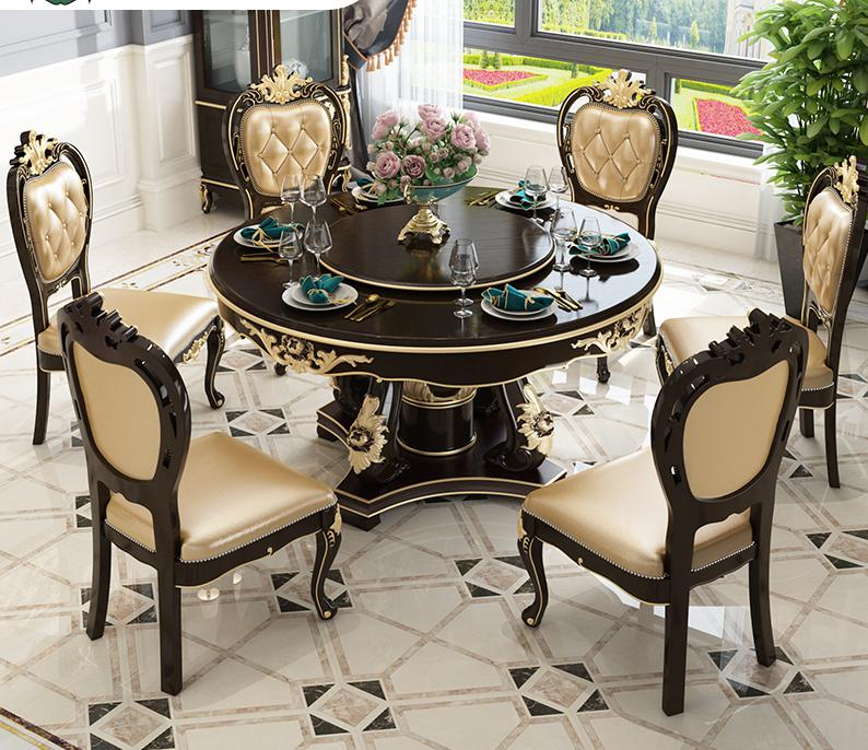 Quality Furniture Makers: Modern Luxury European Style Quality Furniture Dining Room