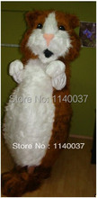 mascot Lovely Hamsters Mascot Costume Classic Cartoon Costumes Adult Size Fancy Dress Suit EMS Free Shipping