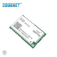 Sx1262 lora 868 mhz 915 mhz 30dbm smd sem fio transceptor E22 900T30S ipex selo buraco 1 w longa distância tcxo transmissor receptor