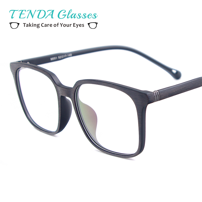 Man Lightweight TR90 Medium Eyeglasses Frame Square Full Rim Glasses For Myopia Multifocal Prescription Lenses image