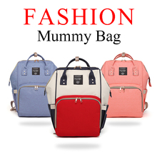 Fashion Mummy Maternity Diaper Bag Mom Backpack Brand Large Capacity Baby Bag Desinger Nursing Bag Travel Backpack For Baby Care