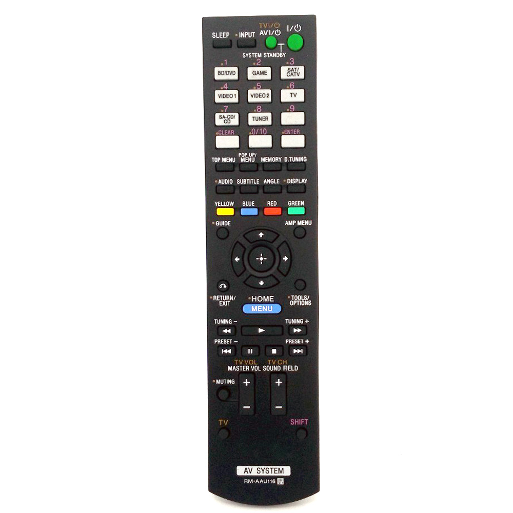 New High Quality RM-AAU116 Remote Control For Sony AV System RM-AAU168 AAU113 AAU104 STR-KS380 STR-KS470 STR-DH550 STR-DN850 STR