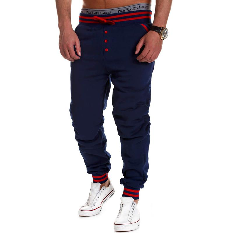 2019 Spring Autumn Brand Mens Sweat Pants Men Cotton Trousers Casual Joggers