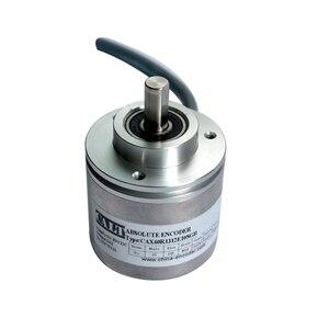 Недорогой Безшовный датчик, 60 мм, разрешение 4096, диаметр вала 10 мм, измерение угла и скорости CAS60