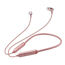 Headphone Rose Gold Bluetooth Headphone Dengan Mikrofon 4.1 Stereo Casque Wireless Headset Earphone Untuk iPhone Android Telepon(China)