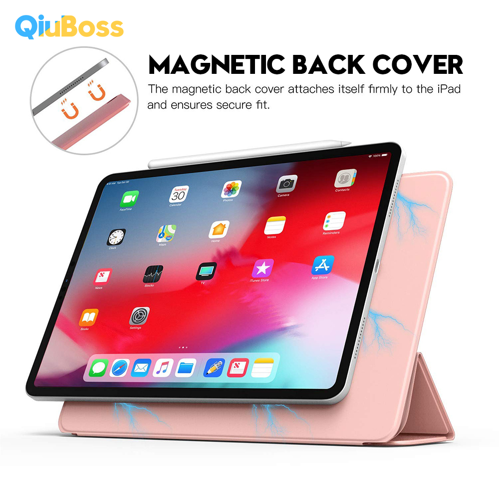 Smart Folio Case For iPad Pro 11 2019 Ultra Slim Original Official 1:1 Magnetic Cover With Back Case For New iPad Pro 11 Funda