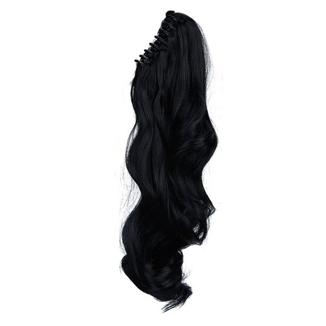 "18"" Wavy Synthetic Hair Clip-in Ponytail"
