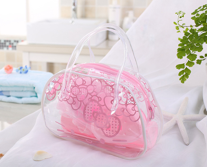 Kawaii Fashion 5 Piece Set Travel Bathroom Products Bag