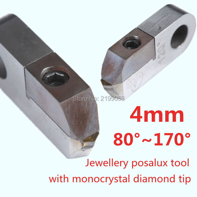 Posalux utensili diamantati taglio a V 80 gradi ~ 170 gradi - Accessori per elettroutensili - Fotografia 1