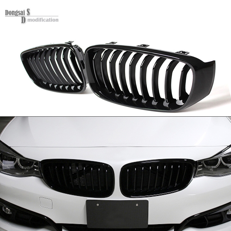 single grid gloss black front bumper grill replacement for bmw 3 series F34 GT gran turismo 320i 328i 335i 2013 2014 2015 2016 replacement bumper grill kidney grille front grid for bmw x5 e70 x6 e71 2007 2014 abs material replacement grid front hood
