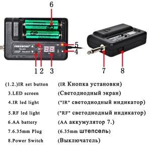 Image 3 - FREEBOSS FB U03 1M 1 Way 100 channel Metal Handheld Transmitter Wireless Microphone Camera Microphone Party Karaoke Microphone