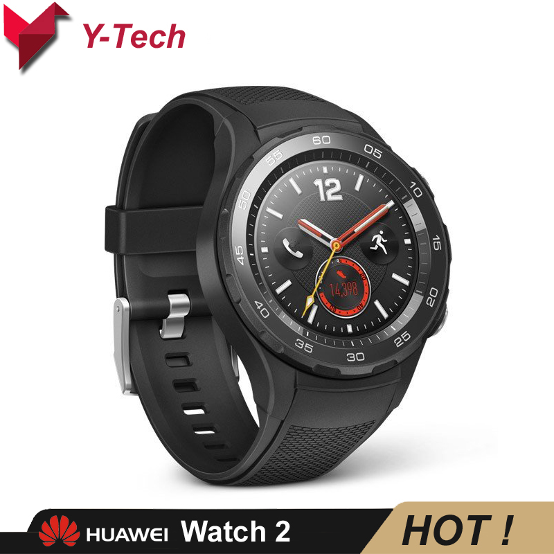 Huawei Watch 2  NFC GPS LTE 4G Huawei Smartwatch Phone Call Heart Rate Tracker IP68 waterproof For Android iOS-in Smart Watches from Consumer Electronics    1