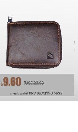 MRF1 RFID блокирующий кошелек мужской кошелек из натуральной кожи защита от кражи идентификационных данных RFID кошелек мужской кошелек для кредитных карт винтажный кошелек