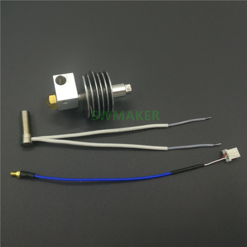 FLASHFORGE finder EXTRUDER ASSEMBLY kit with Cartridge Heater Thermocouple 3D printer parts