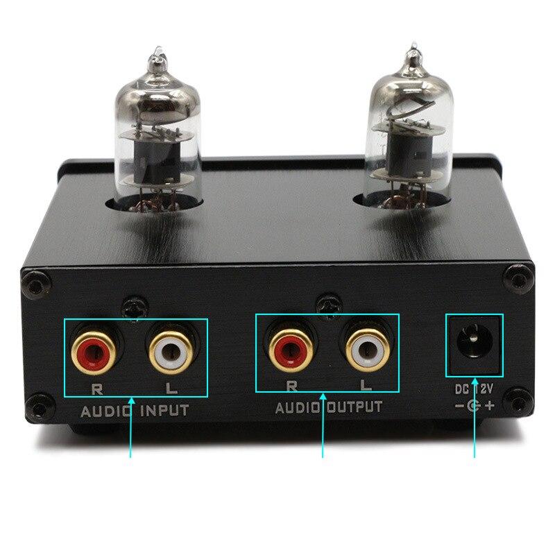 Generoso Fx-audio Tubo-01 E Tubo-03 Mini Tubo Preamplificatore Amplificatore Hifi Preamplificatore Treble Regolazione Dei Bassi Con Dc12v Spina Di Alimentazione Il Massimo Della Convenienza
