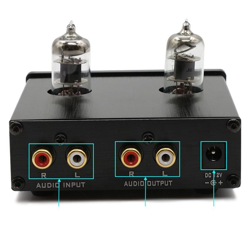 FX-TUBE Audio-01 et TUBE-03 Mini amplificateur de Tube de préampli HIFI préamplificateur de basses aigus avec prise d'alimentation DC12V