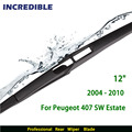 "Rear Wiper Blade for Peugeot 407 SW Estate ( 2004 - 2010 ) 12"" RB880"