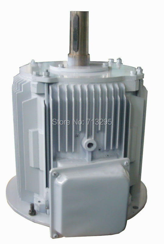 цена на 10kw 250rpm low rpm vertical wind turbine alternator/ permanent magnet ac alternator/ PMG