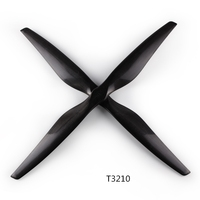 Carbon fiber Professional Helicopter propeller T3210 32 inch Large Load Heavy Pull for DIY Agriculture Plant Drone Accessories