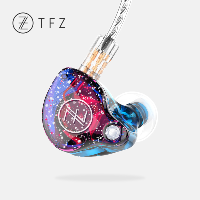 TFZ MY LOVE II In-Ear Earphones HiFi Audio graphene driver with Detachable Cables Earphone tfz queen hifi in ear monitor earphones earphone dynamic iem with 2 pin 0 78mm detachable cables dj stage earphones