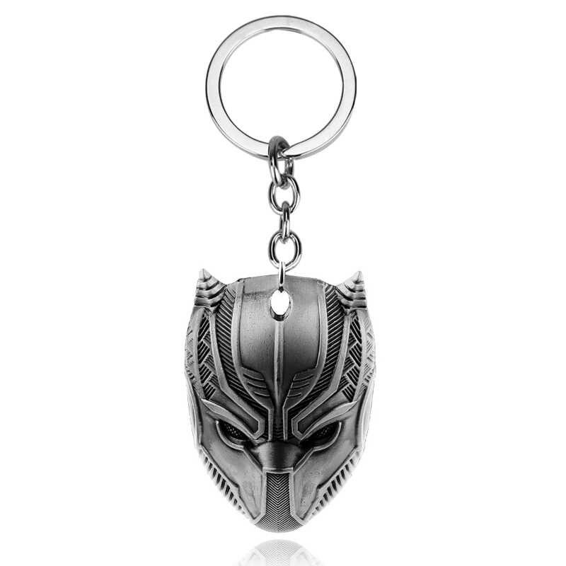 Marvel anillo clave vengadores Thor martillo Mjolnir llavero Capitán América llavero Batman máscara llavero llaveros porte clef joyería