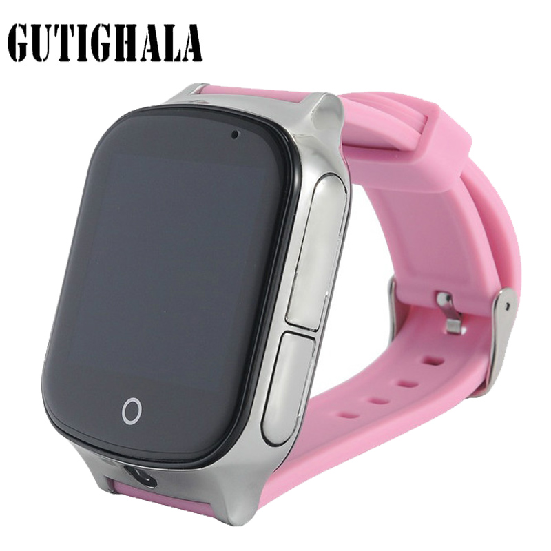 Gutighala Kids Elderly Precise 3G GPS SmartWatch A19 Support WIFI SOS LBS Camera Locate Finder Emergency Call Child Smartwatch