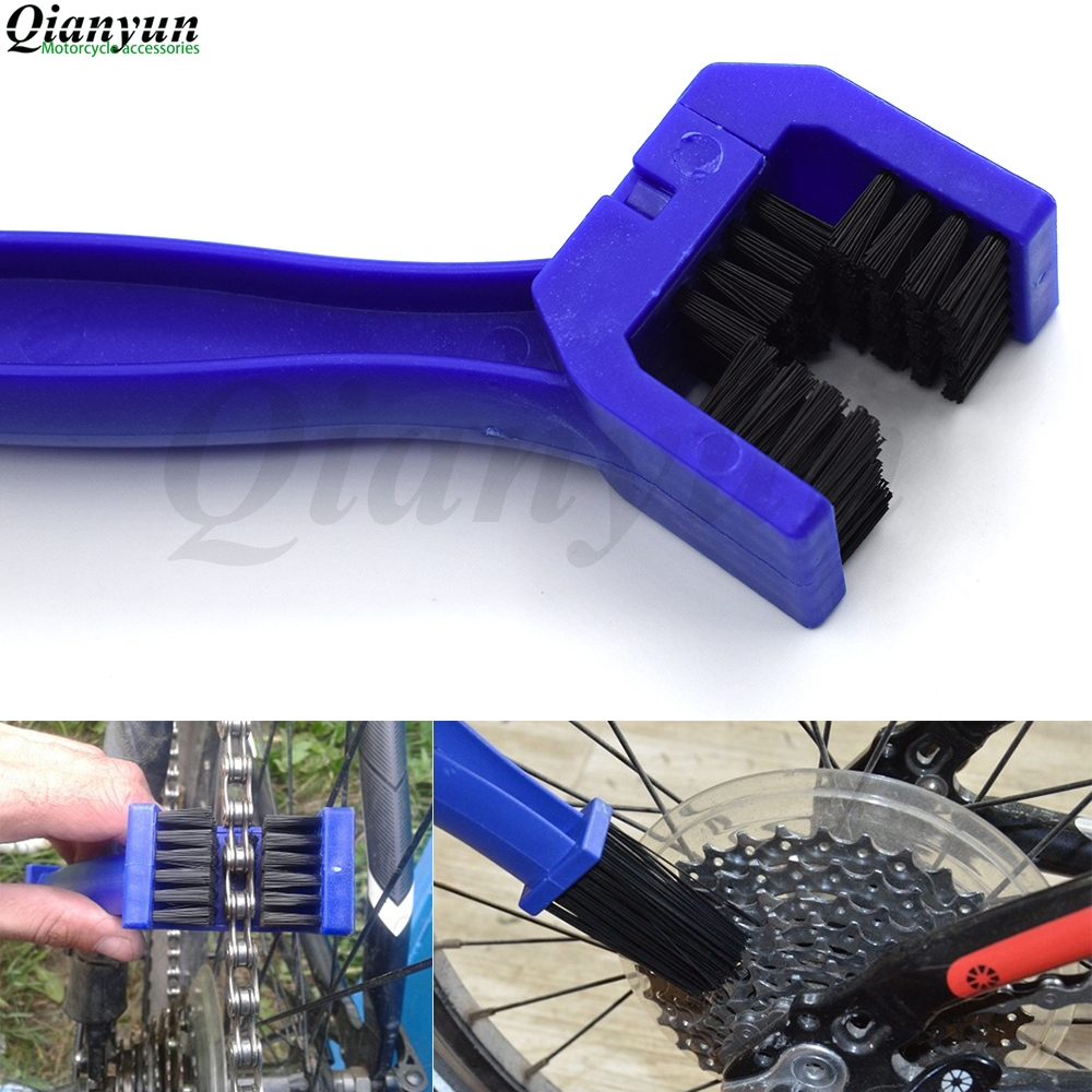 Universal Motorcycle Bicycle Chain Gear Cleaning Brush Scrubber Cleaner Tools For <font><b>Yamaha</b></font> SUPERTENERE XT1200ZE FJR <font><b>1300</b></font> <font><b>XJR</b></font> <font><b>1300</b></font> image
