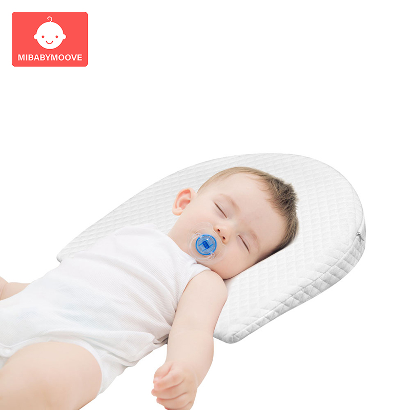 Positioner Pillow Support Cushion Infant Memory Foam Newborn For Crib Cot Bed