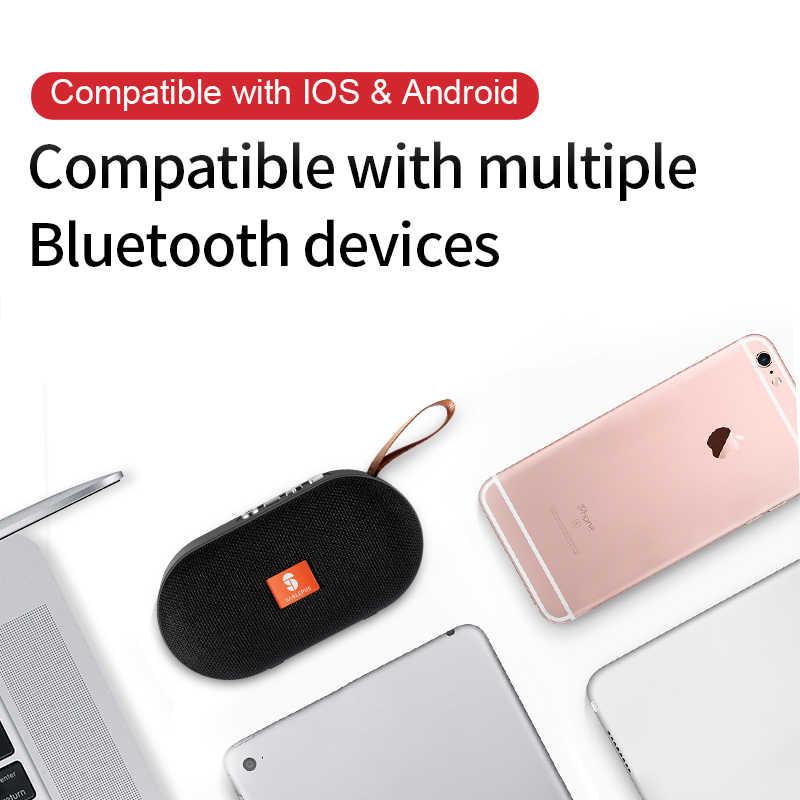 Sanlepus Portabel Bluetooth Speaker Speaker Outdoor Nirkabel Musik Stereo Surround Tahan Air untuk Ponsel Tablet PC Laptop Xiaomi