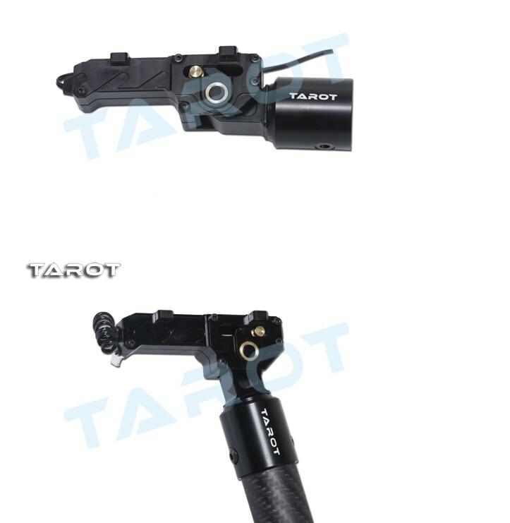 F11409 TAROT 25mm CNC ALL Metal Electric Retractable Landing Gear Skids DRIVER TL8X003 FS tarot 650 sport carbon quad copter kit with electric retractable landing skids tl65s01