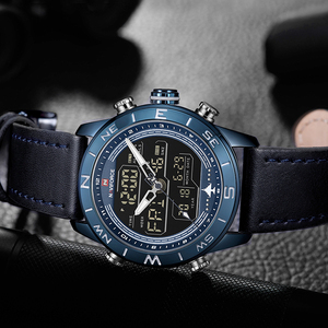 Image 4 - NAVIFORCE montre bracelet pour hommes, de marque supérieure, de Sport, de mode, Quartz, étanche, militaire, 2019