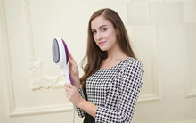 SJ 8 Free Shipping steam brush handheld ironing machine portable dry cleaning brush household electric iron